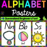 Alphabet Posters - Queensland Font