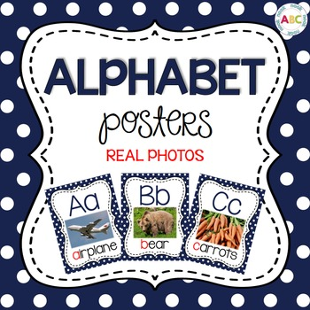 Alphabet Posters - REAL photographs