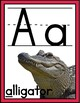 Alphabet Posters - RETRO