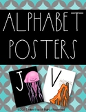 Alphabet Posters {Rae Dunn Inspired}