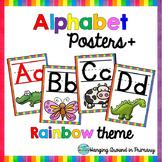 Alphabet Posters - Rainbow