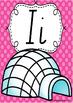 Alphabet Posters Rainbow Spotty - SA Modern Cursive