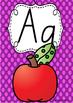 Alphabet Posters Rainbow Spotty - Tasmanian Handwriting Beginners