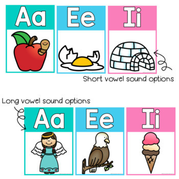 Alphabet Posters {Rainbow Classroom Decor}
