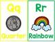 Alphabet Posters - Rainbow Themed
