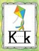 Alphabet Posters- Rainbow Watercolor Theme