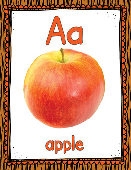 Alphabet Posters - Real Images APT-001