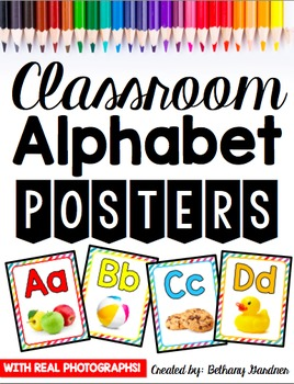 Alphabet Posters {Real Photographs}