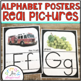 Alphabet Posters Real Pictures