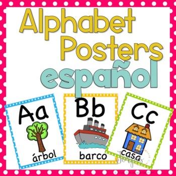 Alphabet Posters SPANISH