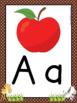 Alphabet Posters:  Safari Animal Theme