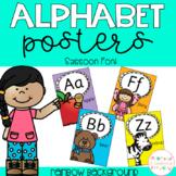 Alphabet Posters - Sassoon Font