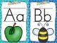 Alphabet Posters: Print and Cursive (School Brights)
