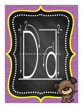 Alphabet Posters Set 1A
