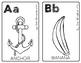 Alphabet Posters - Set 1   Half Page   Color