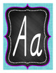 Alphabet Posters Set 1B - D'Nealian
