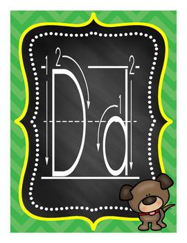 Alphabet Posters Set 2A