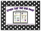 Alphabet Posters Set 4 * Create Your Own Room * Preschool Daycare