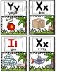 Alphabet Posters Set ~ Safari Theme
