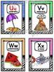 Alphabet Posters Set ~ Zebra/Crayon Theme