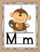 Alphabet Posters- Shabby Chic Rustic Burlap