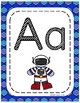 #roomdecor Classroom Decor Alphabet Posters - Shades of Blue