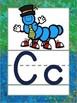 Alphabet Posters Sidewalk Chalk with ABC Animals
