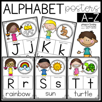 Alphabet Posters {Simple A-Z}