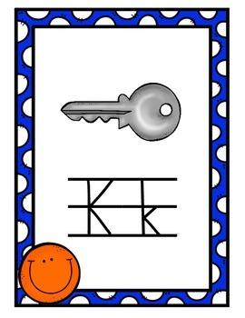 Alphabet Posters - Smiley Theme