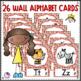 Alphabet Posters Sock Monkey