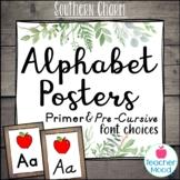 Farmhouse Themed Classroom Alphabet Posters
