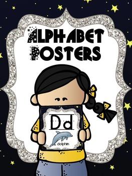 Alphabet Posters - Space Theme