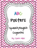 Alphabet Posters: Spanish/English Cognates