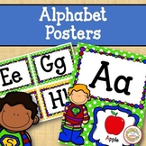 Alphabet Posters - Super Hero