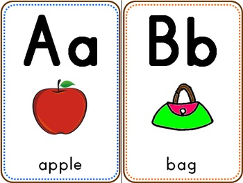 Alphabet - Posters & Tracing Activities