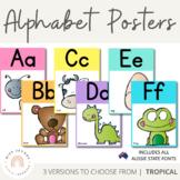 Alphabet Posters | Tropical Theme