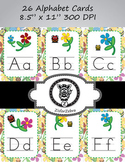 Alphabet Posters Upper and Lower Case