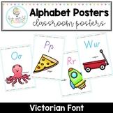Alphabet Posters - Victorian Font
