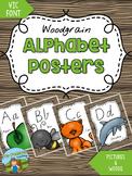 Alphabet Posters {WOODGRAIN}
