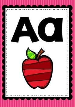 Alphabet Posters Wall Anchor Charts 4