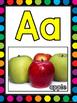 Alphabet Posters {White & Rainbow Dot Theme}