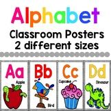 Alphabet Posters Whitebackground