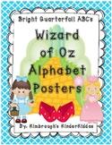 Alphabet Posters Wizard of Oz