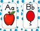 Alphabet Posters, Word Wall Cards, Flashcards  (Chevron,Zebra,Bubble,Dots,Rope)