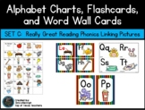 Alphabet Posters & Word Wall Cards: Set C- Really Great Re
