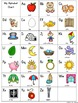 Alphabet Posters,Word Wall,&Flashcards Traditional Print:Rainbow Color F&P Links