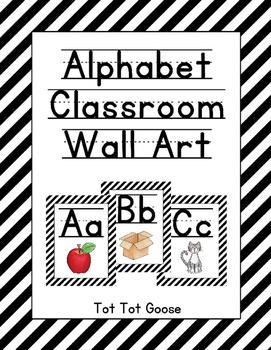 Alphabet Posters, Alphabet Classroom Decor