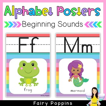 Alphabet Posters (Zaner Bloser Font)