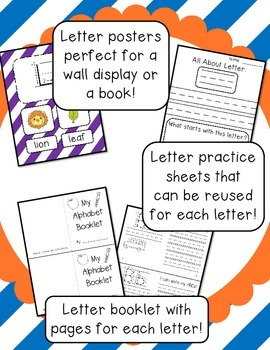 Alphabet Posters and Booklet