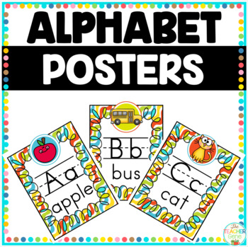 Alphabet Posters and Cards